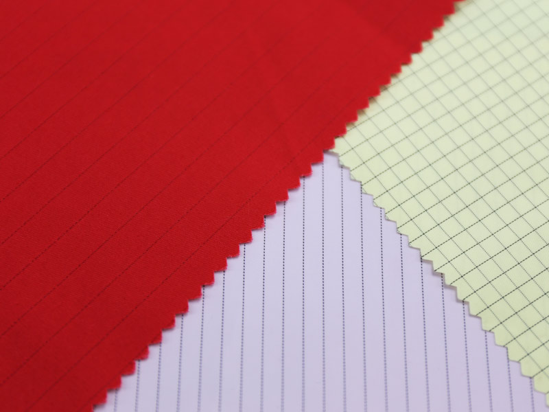 Anti Static Fabric : Polyester cotton anti static woven fabric for workwear