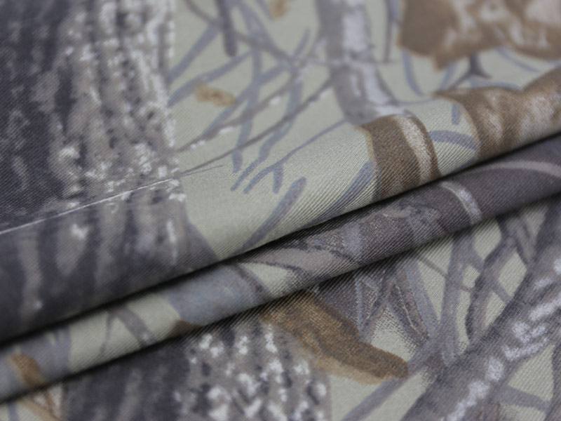 Printed Camouflage Fabric
